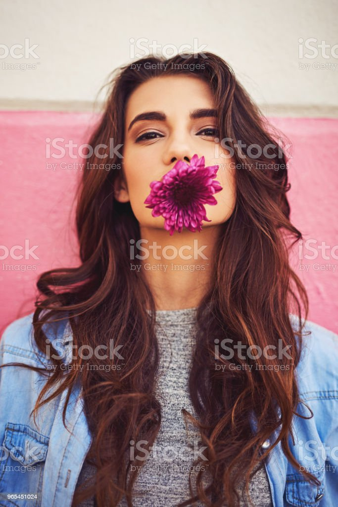 In the city you have to be strong and fragile royalty-free stock photo