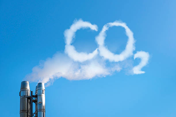 co2 in the clouds - co2 bildbanksfoton och bilder