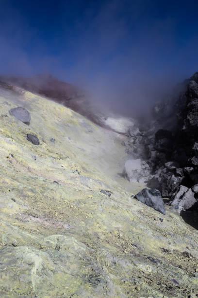 Im Krater des Vulkans Avachinskaya, Kamtschatka – Foto
