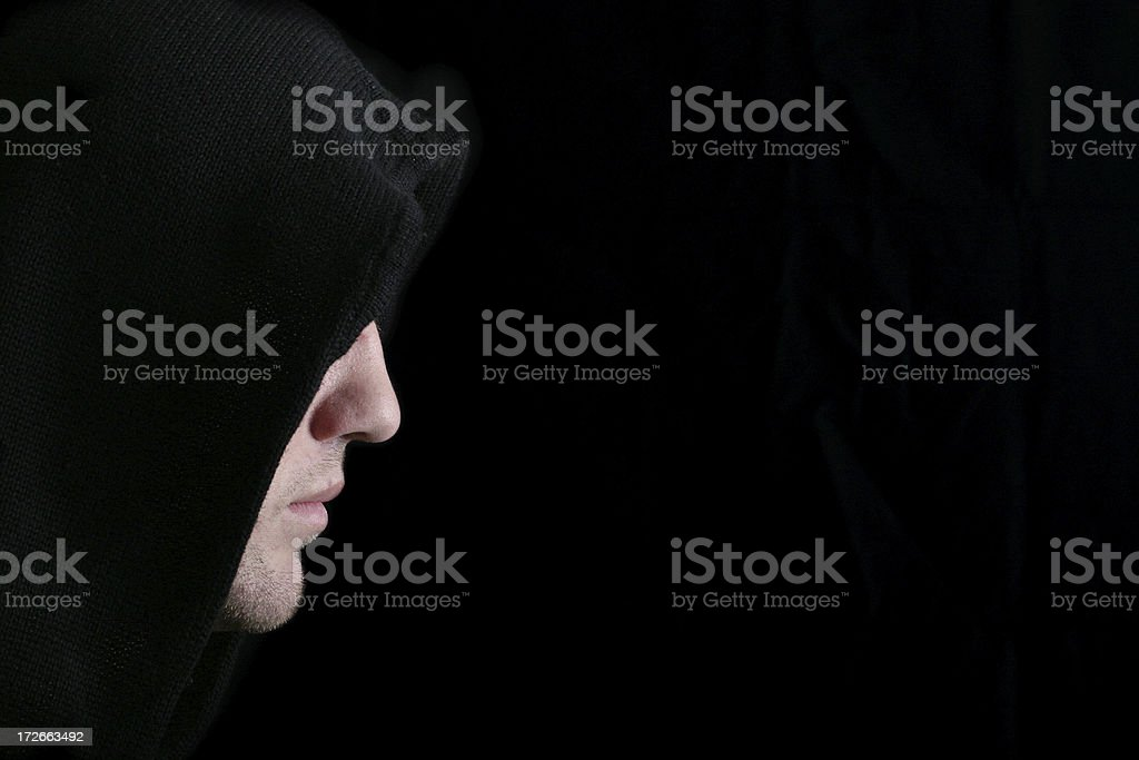 In the Darkness royalty-free stock photo