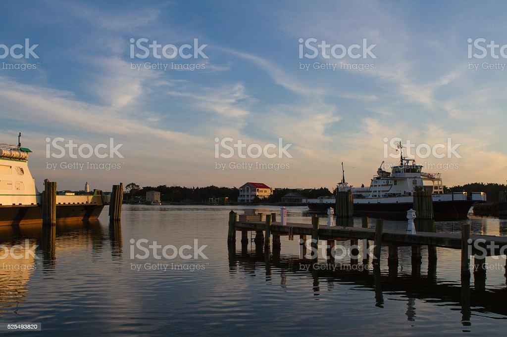 In the Docks stock photo