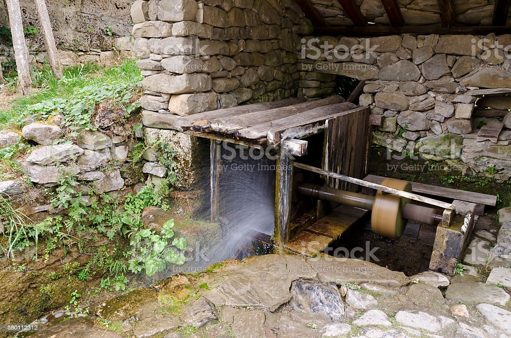 In  the Etar, Gabrovo, Bulgaria stock photo