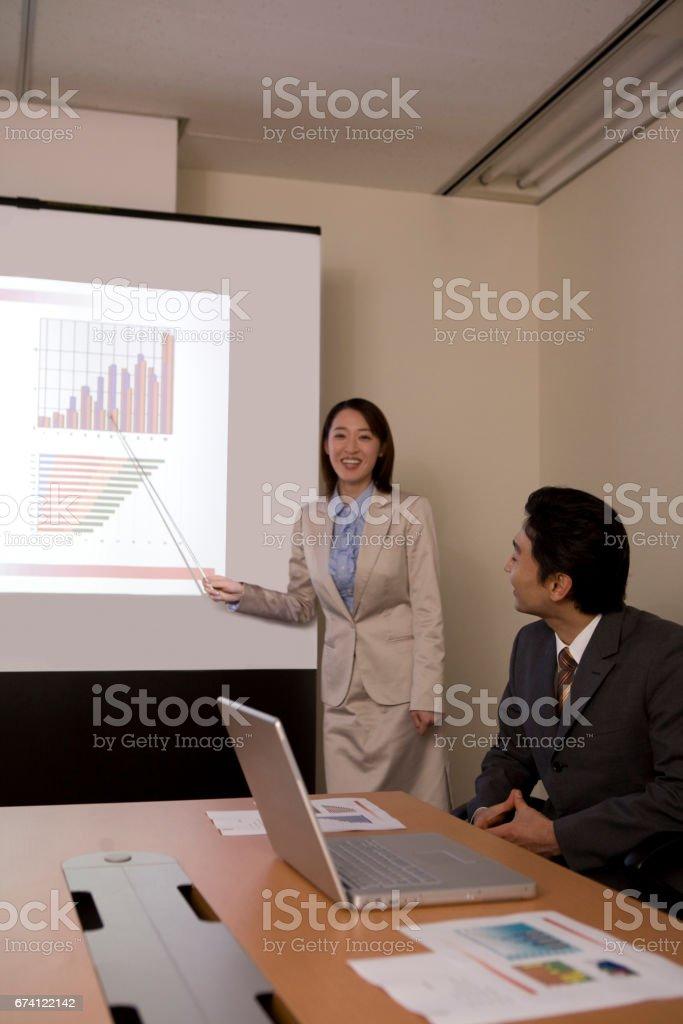 OL 中的圖形在螢幕上給你 免版稅 stock photo