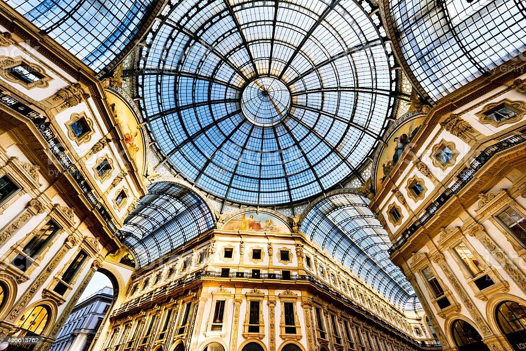 Im Herzen von Mailand, Italien - Lizenzfrei 2015 Stock-Foto