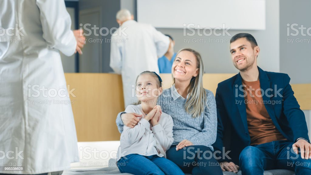 Image result for family photos with a daughter near the doctor