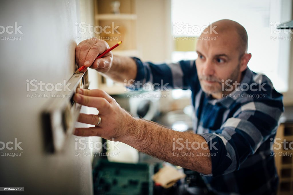 DIY in the Kitchen stock photo