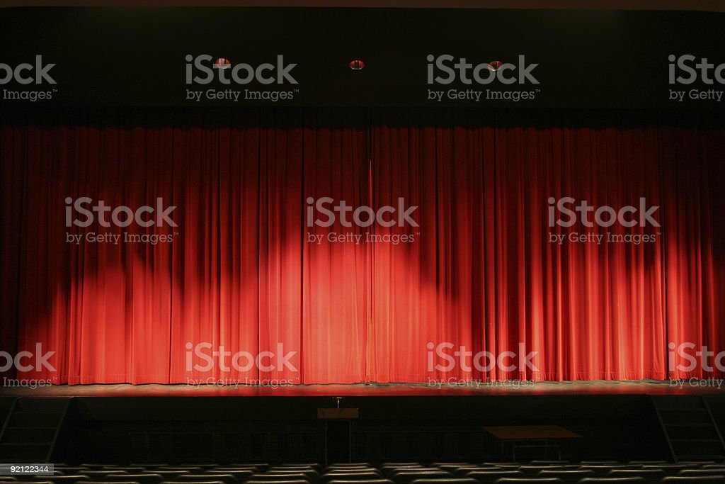 In the limelight royalty-free stock photo