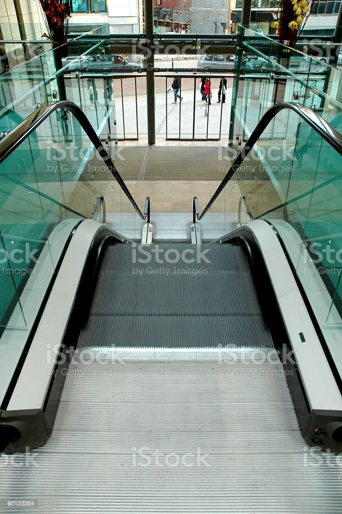 In the mall royalty-free stock photo
