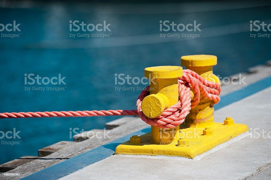 En la marina. - foto de stock