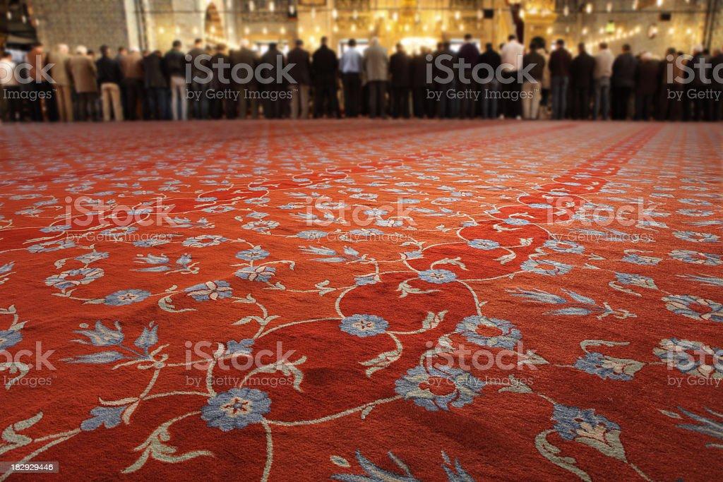 In der Moschee Lizenzfreies stock-foto