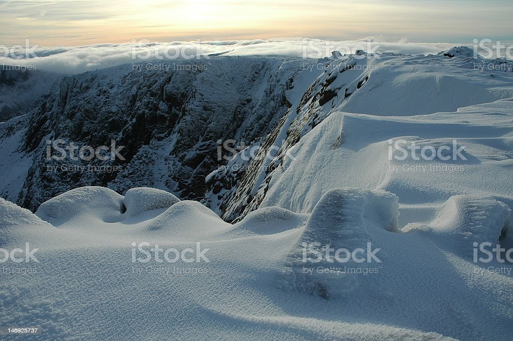 In the mountains. stock photo