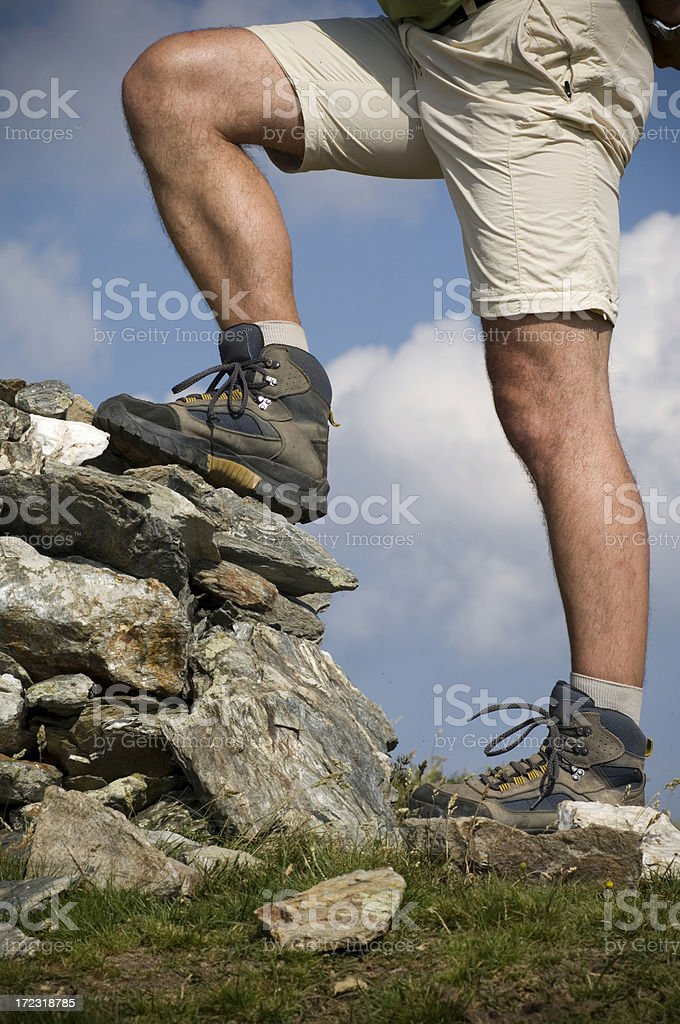 In the mountains royalty-free stock photo