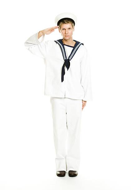 in der navy - matrosin kostüm stock-fotos und bilder