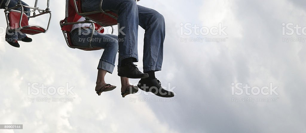 In the open sky royalty-free stock photo