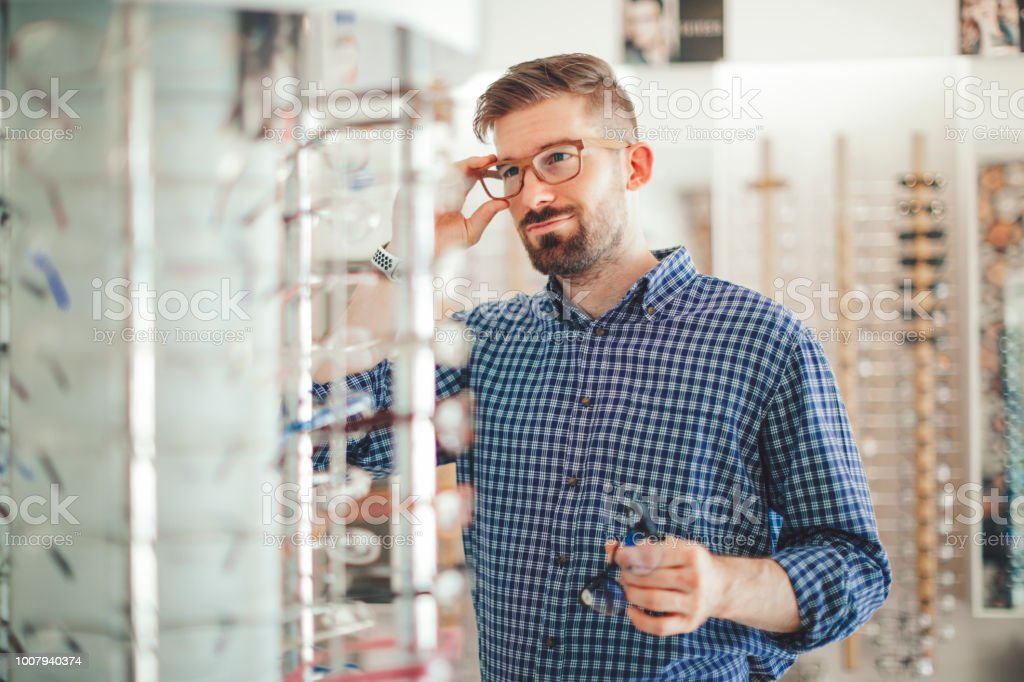 In der Optik-Shop – Foto