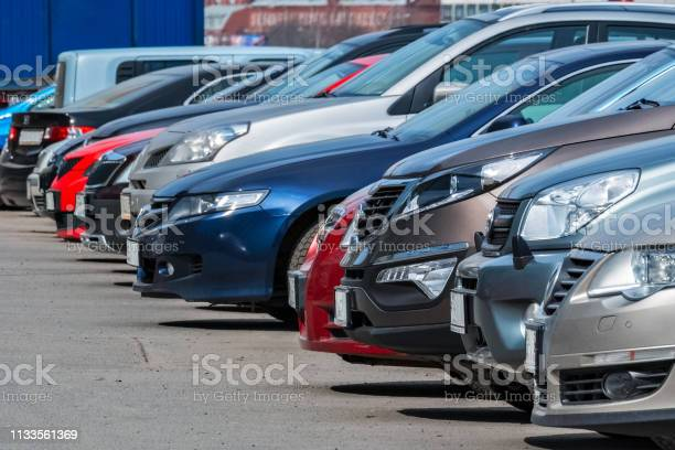 In The Parking Lot Stock Photo - Download Image Now