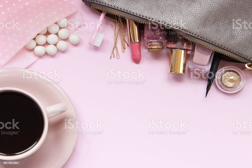 In the pink of things stock photo