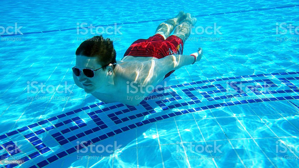 Im pool – Foto