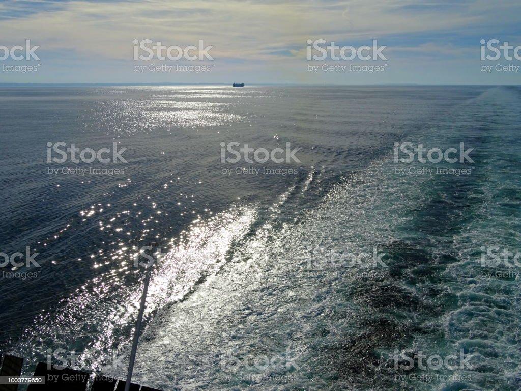 Im Hafen von Amsterdam Und Newcastle – Foto