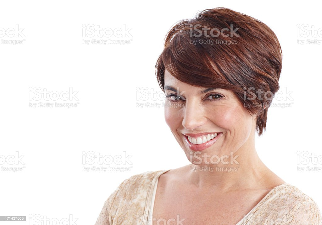 In the prime of her life! stock photo