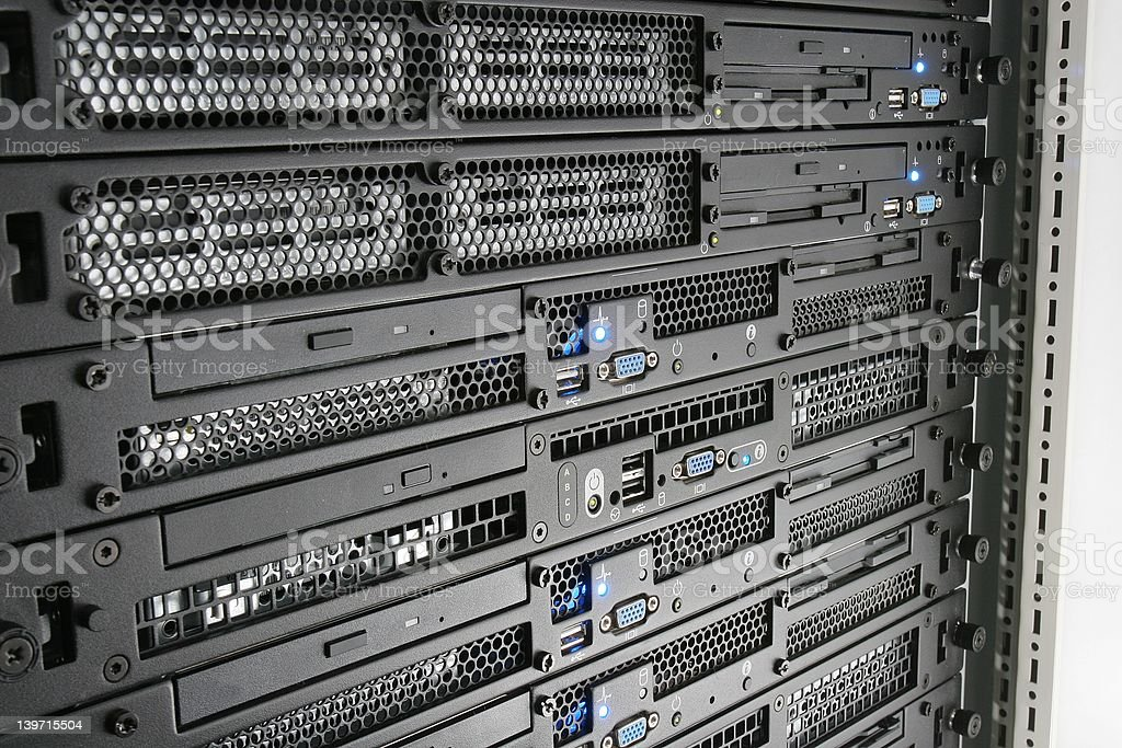 In the rack royalty-free stock photo