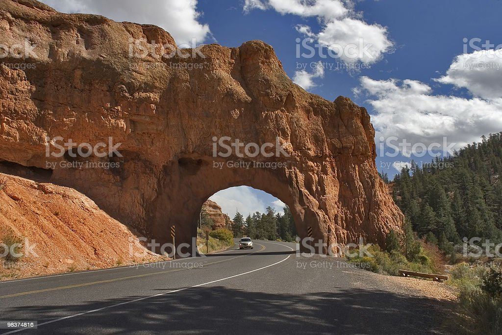 In the Red canyon midday royalty-free stock photo