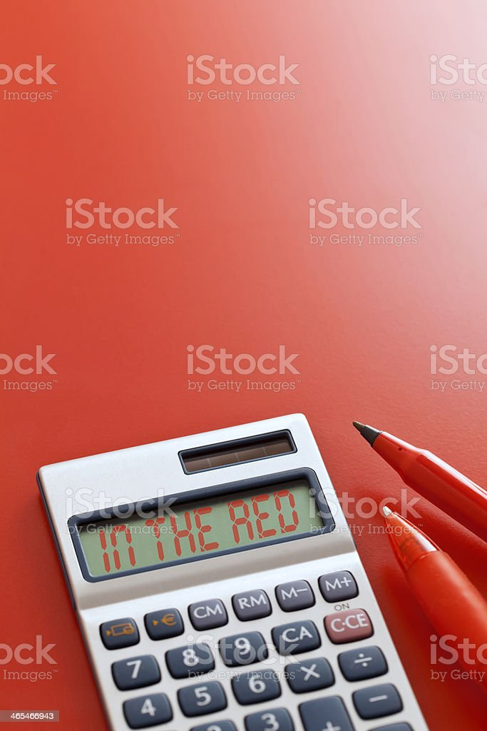 In the Red royalty-free stock photo