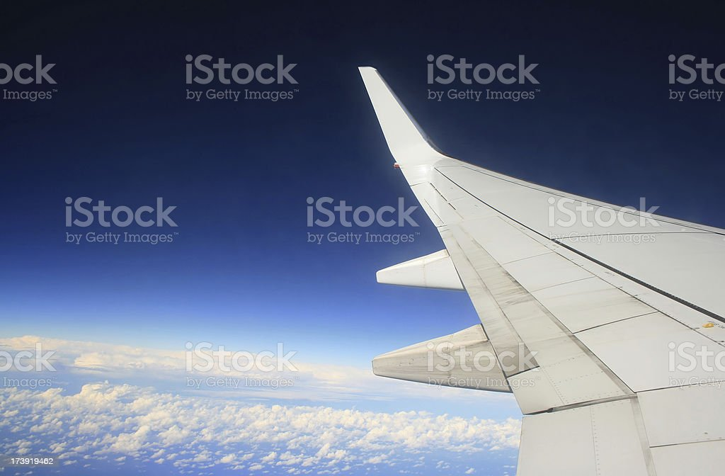 In the Sky royalty-free stock photo