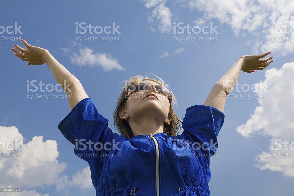 W the sky zbiór zdjęć royalty-free