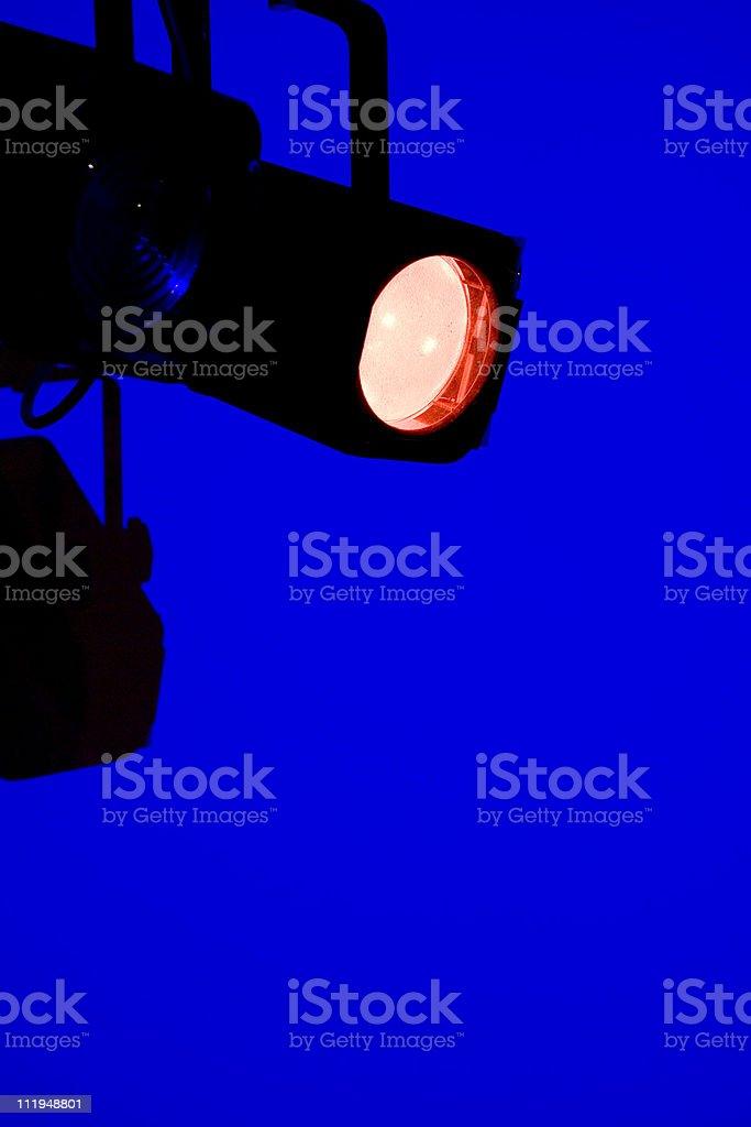 In the spotlight royalty-free stock photo