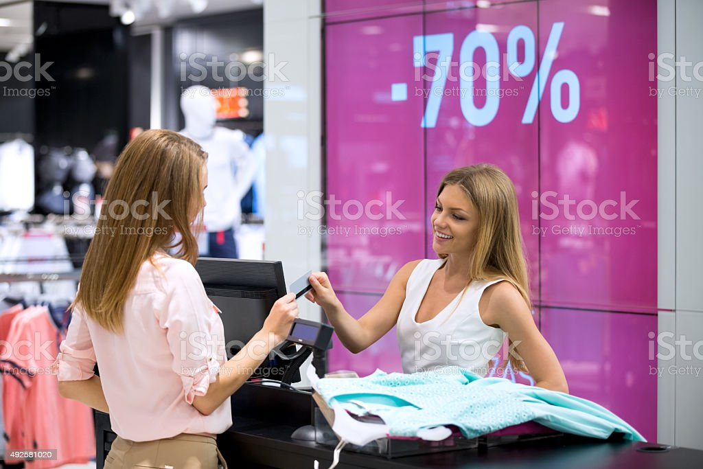 In the store stock photo