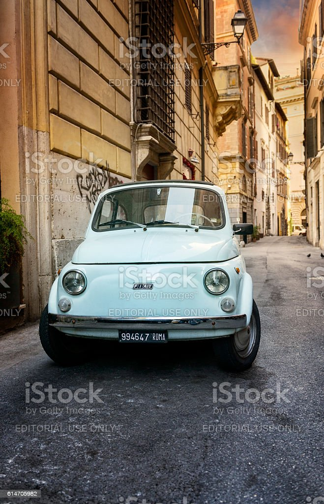 in the streets of Roma - foto stock
