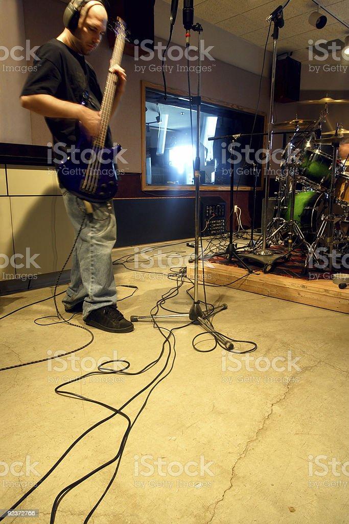 Im studio Lizenzfreies stock-foto