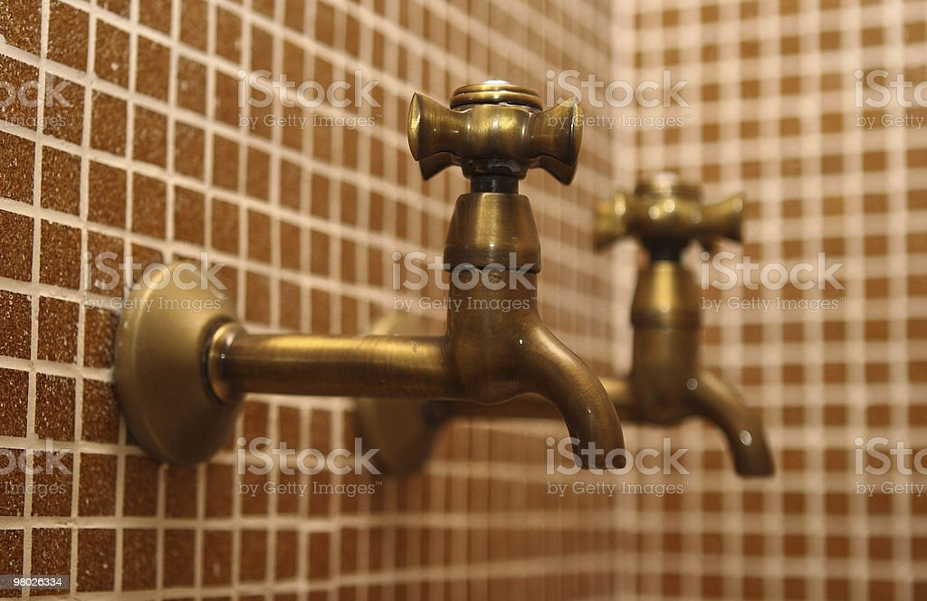 In the Turkish baths royalty-free stock photo