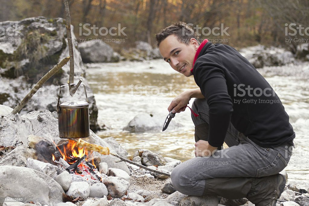in the wilderness royalty-free stock photo