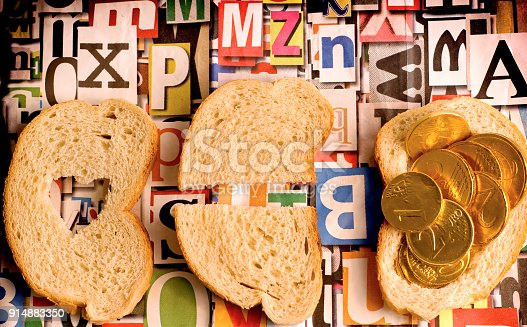 883034410 istock photo In this world some people do not have enough bread to survive - Help the hungry children 914883350