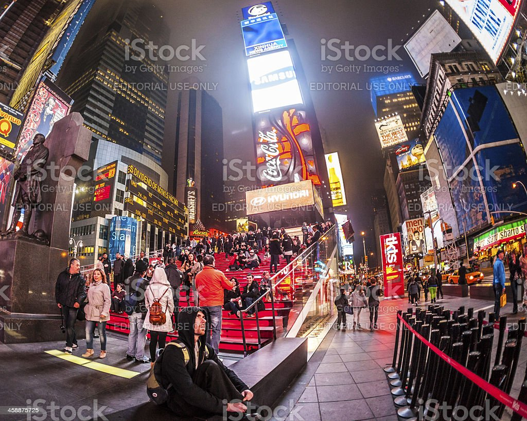 TKTS in Times Square stock photo