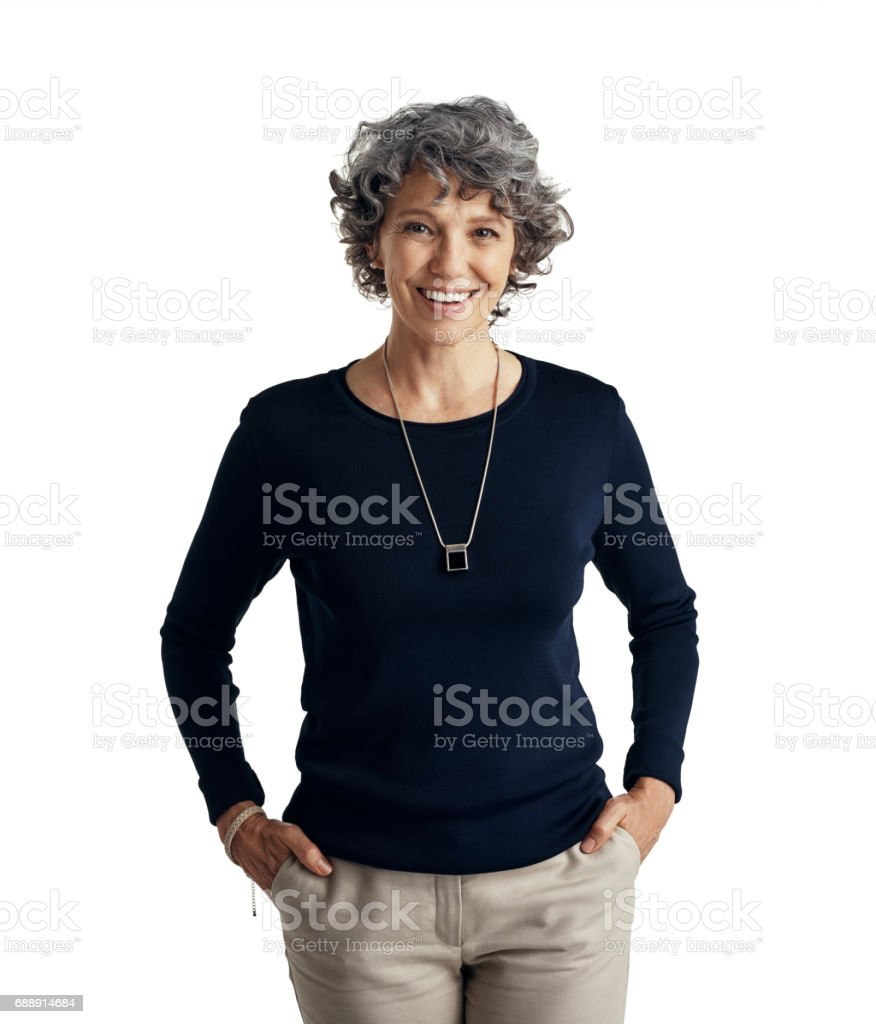 In total control of the life I live stock photo