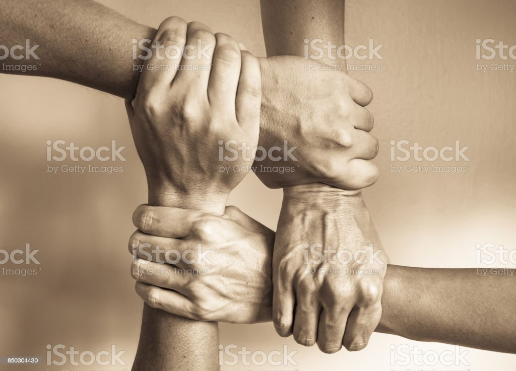 In unity there is a strength stock photo