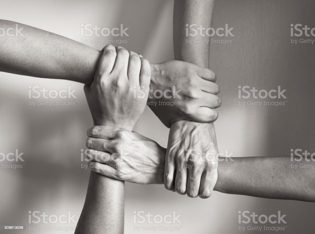 In unity there is strength stock photo