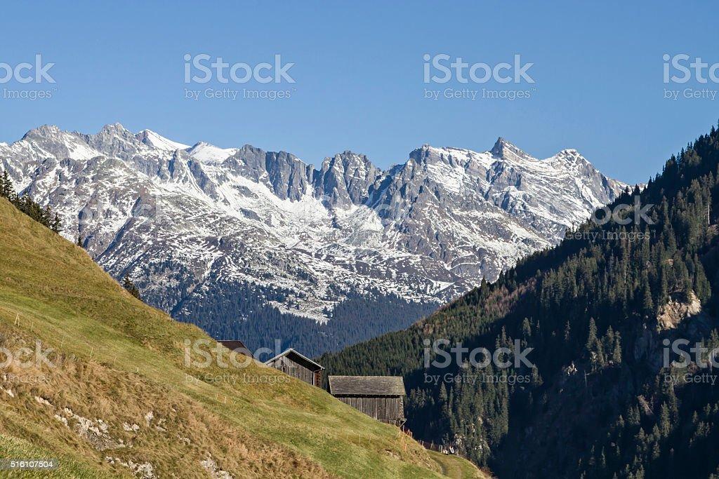In Val Medel stock photo