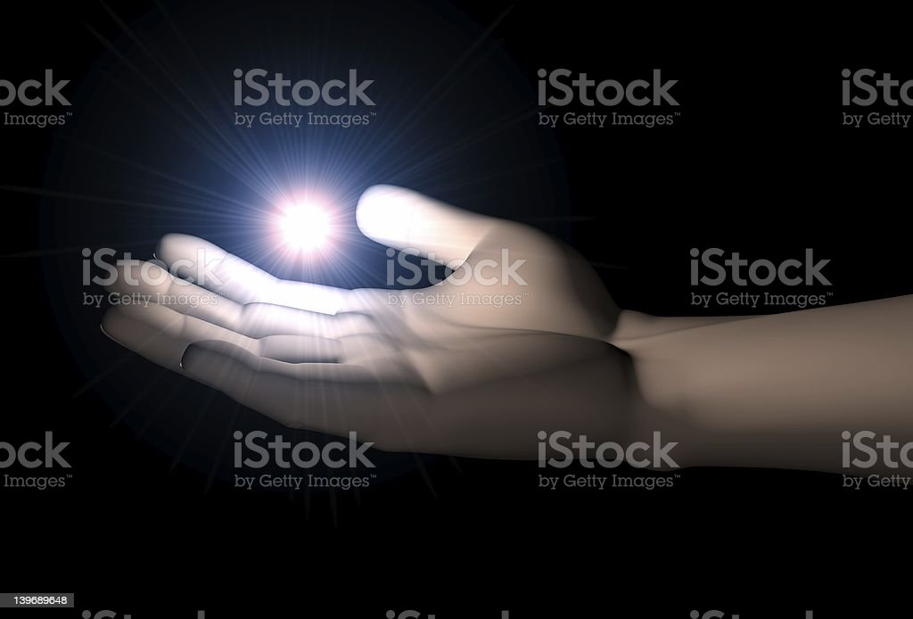 In your hands royalty-free stock photo