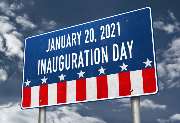 Inauguration Day in 2021 for the elected President Inauguration Day in 2021 for the elected President inauguration stock pictures, royalty-free photos & images
