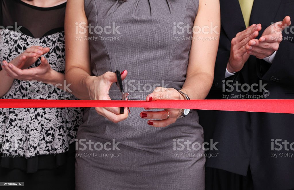 Inauguration Event royalty-free stock photo