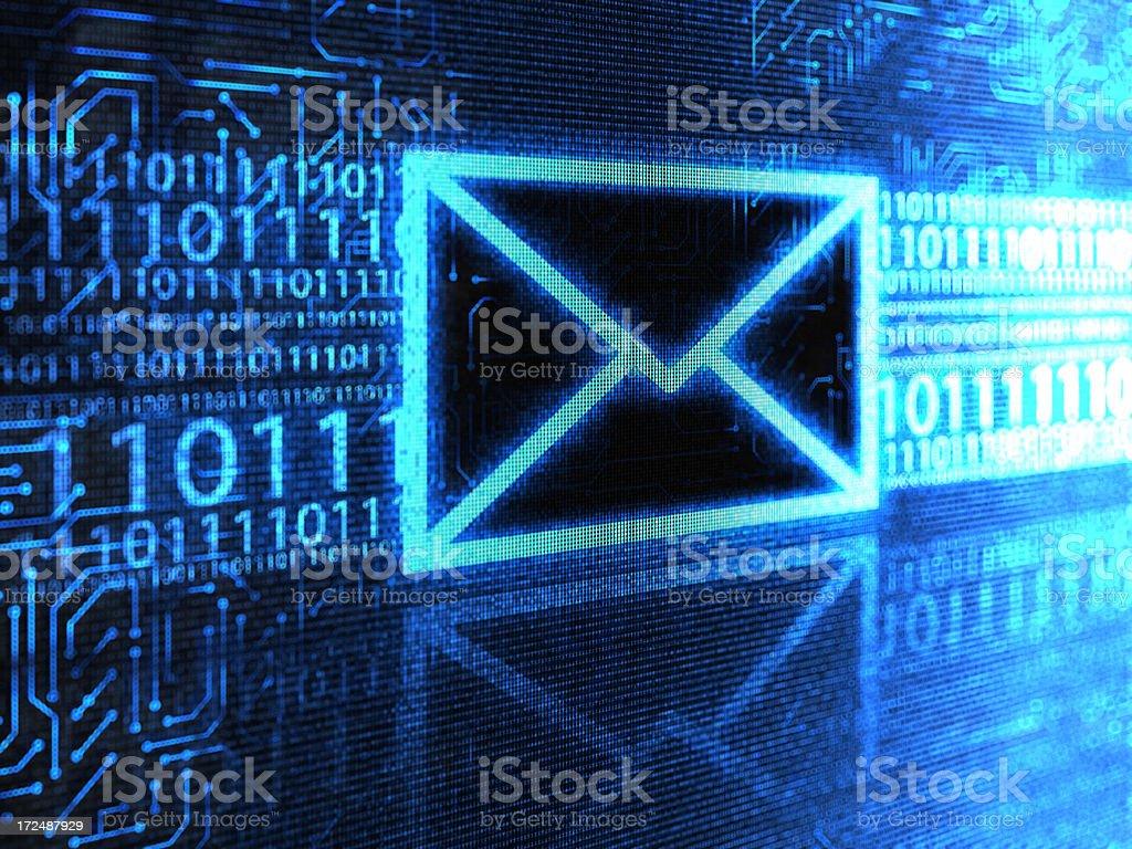 Inbox royalty-free stock photo