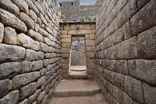 Eingang der Inkas in Machu Picchu, Peru – Foto