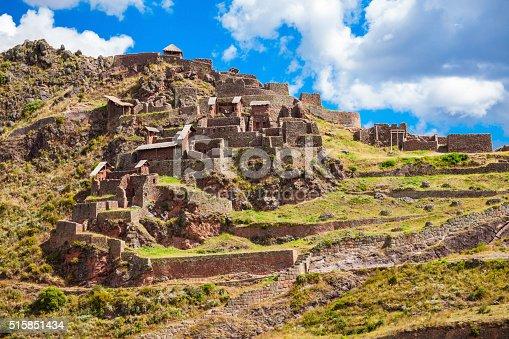 istock Inca Pisac, Peru 515851434