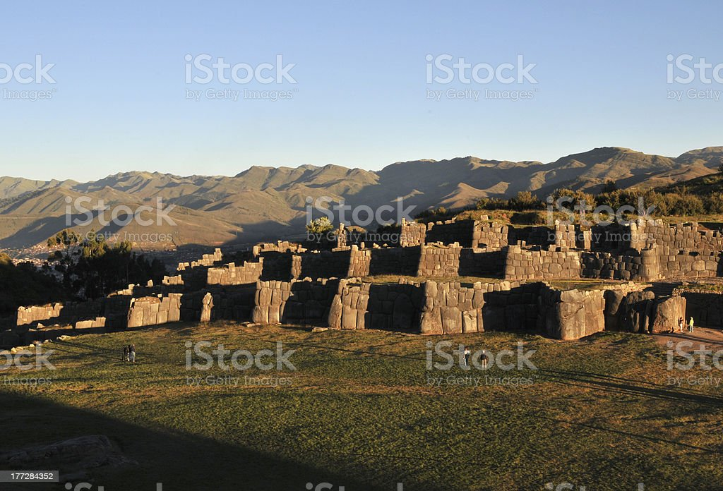 Inca ruins, Cusco, Peru stock photo