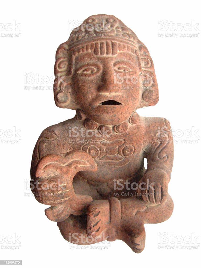 Inca Statue stock photo