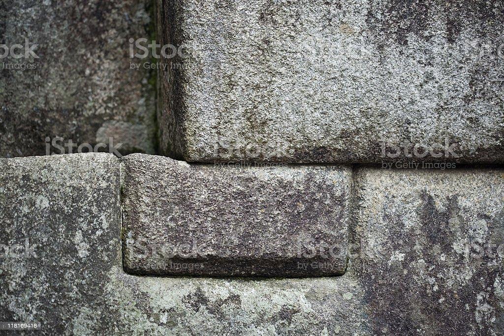 Inca Wall stock photo